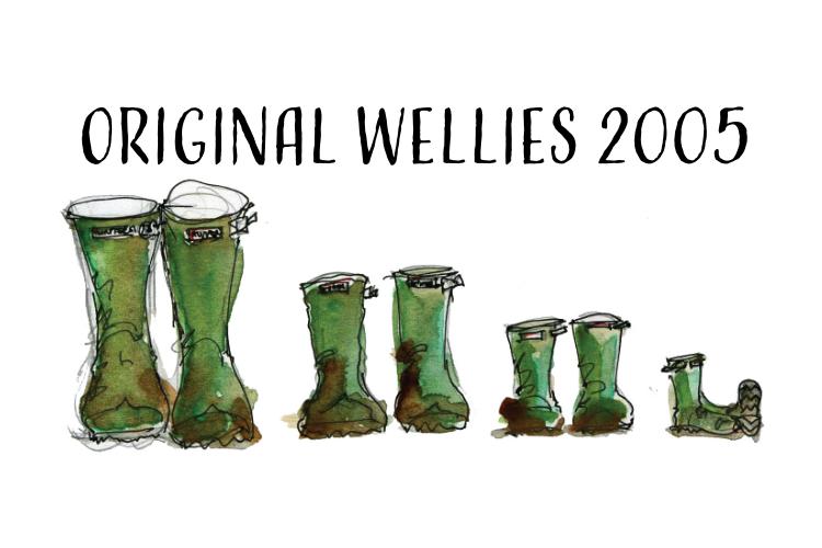 Original welly illustrations