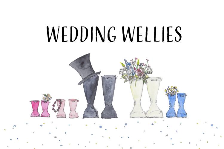 Wedding Wellies
