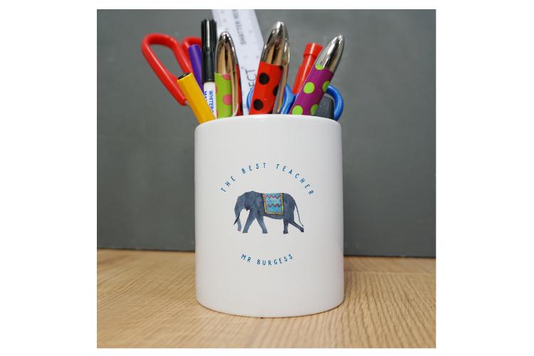 Make it your own pencil pot