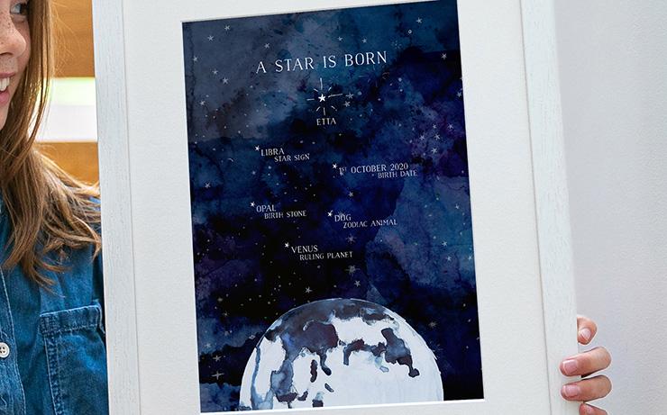 Universe New Baby Print
