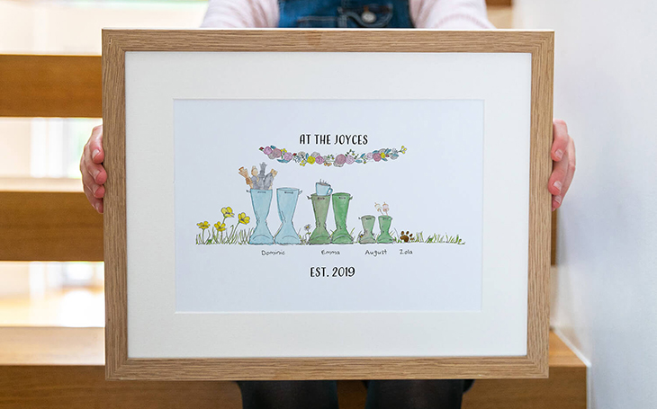 Original Welly Boot Print