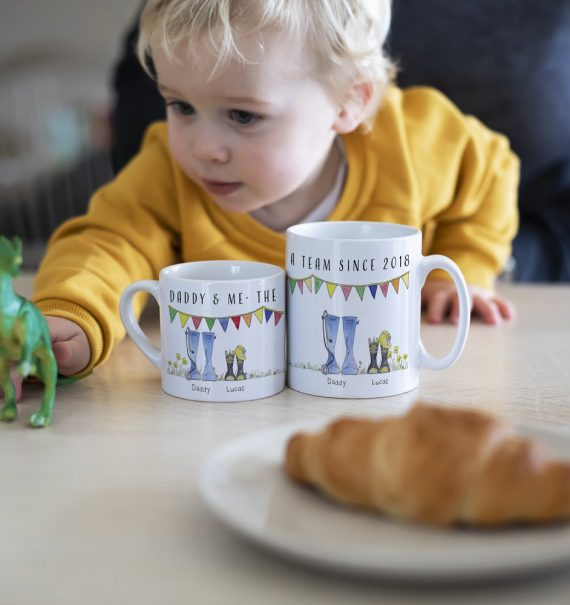 welly boot mugs