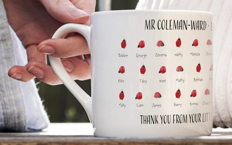 Classroom creatures mug