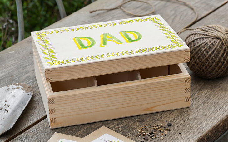 father's day seed box