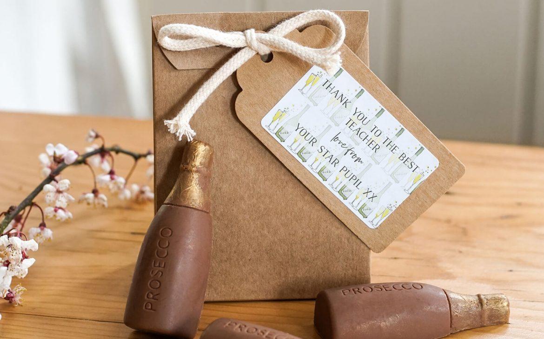 Prosecco chocolates gift bag