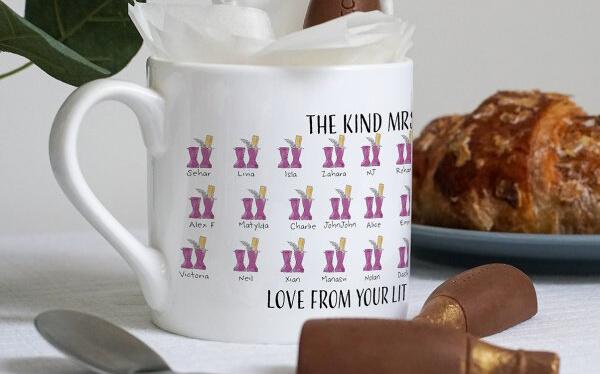 English Teacher Class Mug