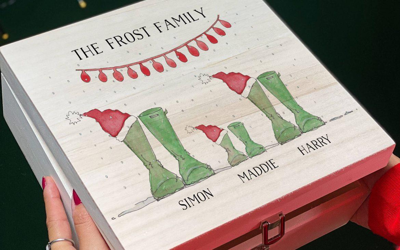 Christmas Wellies Christmas Eve Box