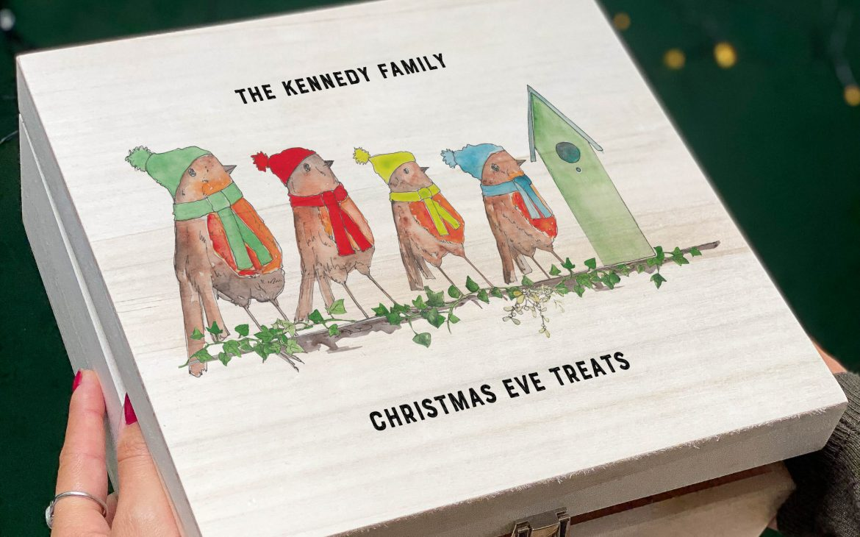 Robin Family Christmas Eve Box
