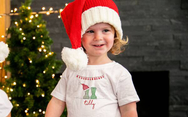 Welly Boot Christmas Pyjamas