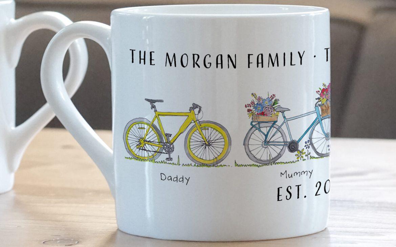 Bike Family Mug