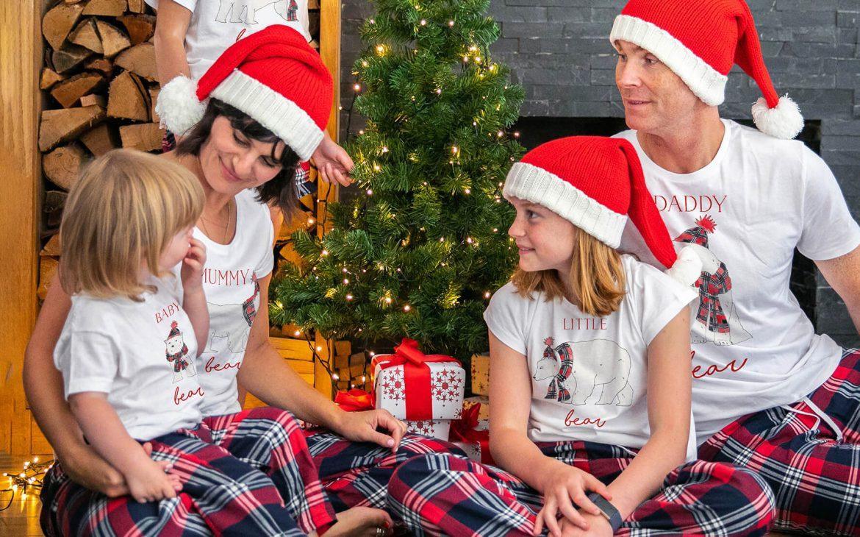 Bear Family Christmas Pyjamas