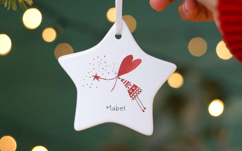 First Christmas Magical Fairy Christmas Decoration