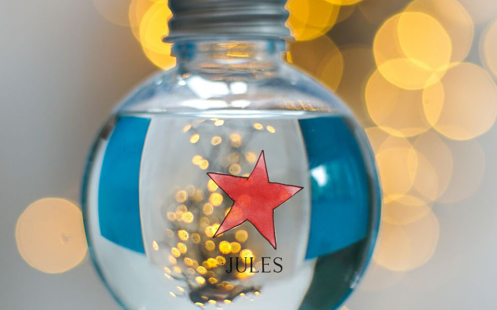 Red Star Gin Bauble